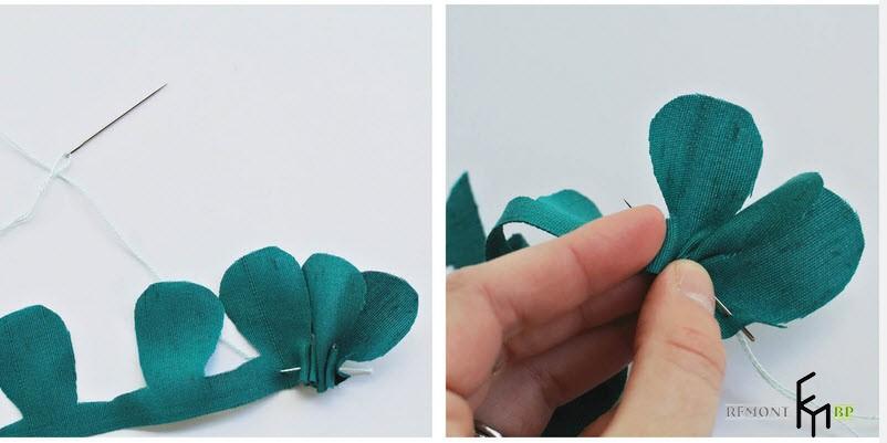 Сшиваем изделие