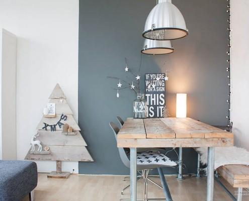 Оформляем интерьер в скандинавском стиле, Бюджетный вариант оформления на фото
