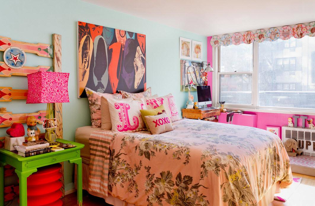 Спальня для юной модницы