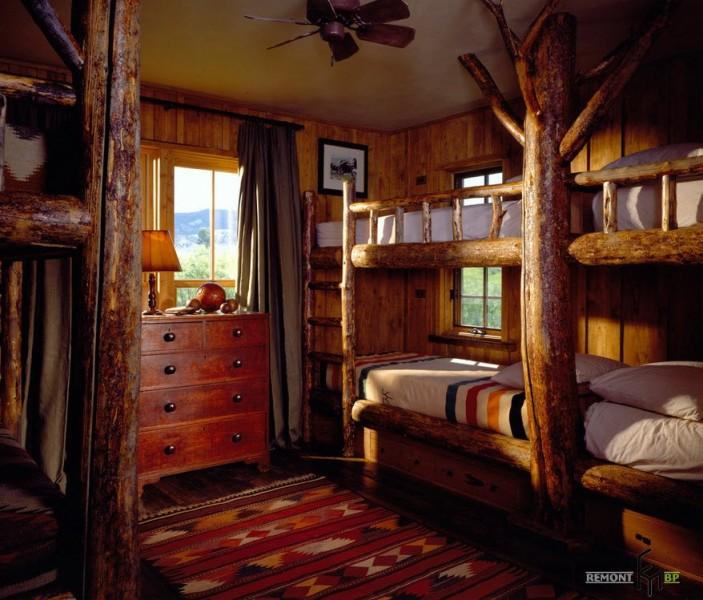 Решения для спальни в стиле кантри