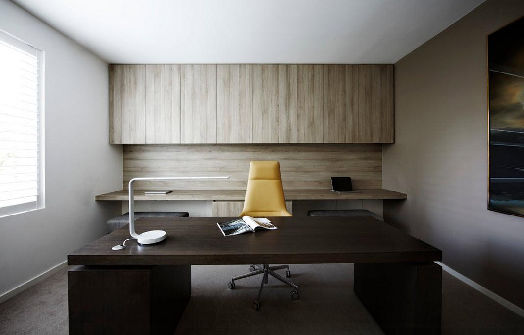 Темные цвета для оформления кабинета