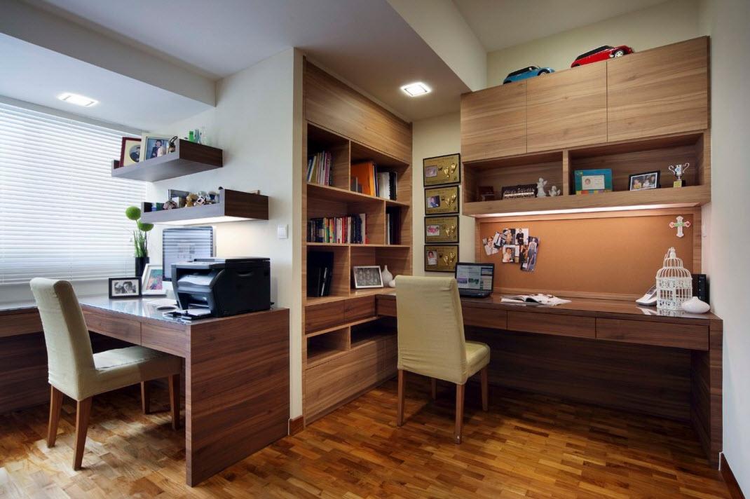 Системы хранения в кабинете