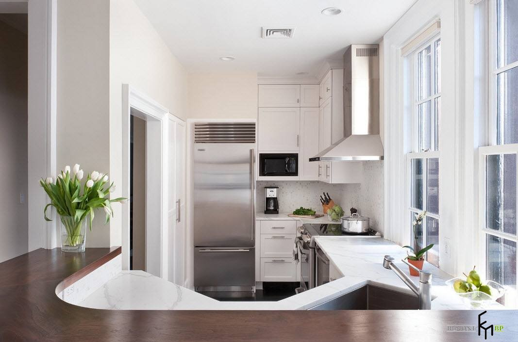 Маленькая кухонная зона