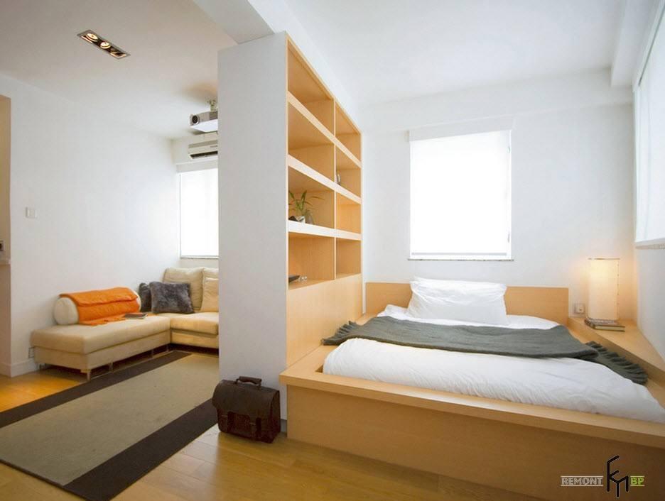 Гостиная и спальня