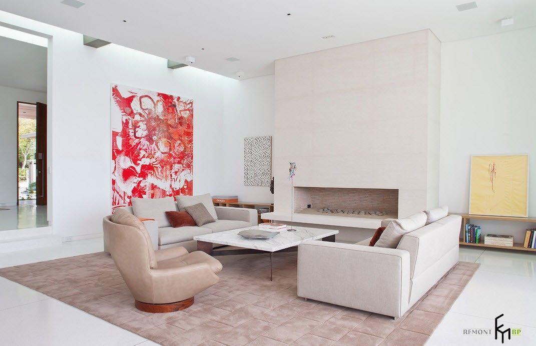 100 лучших идей дизайна большой гостиной: красивый интерьер на фото