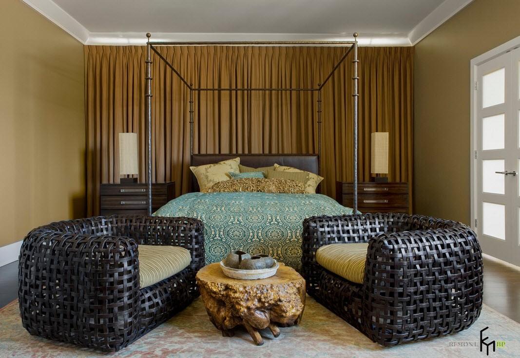 Нотки историзма в спальне