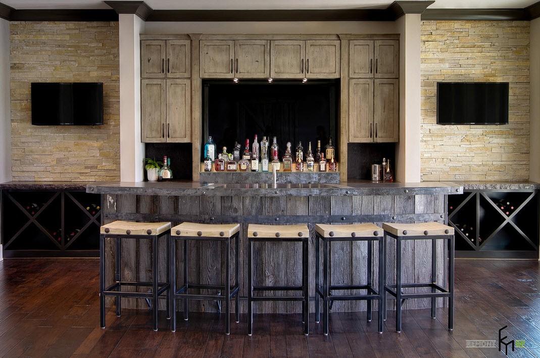 Современная барная стойка