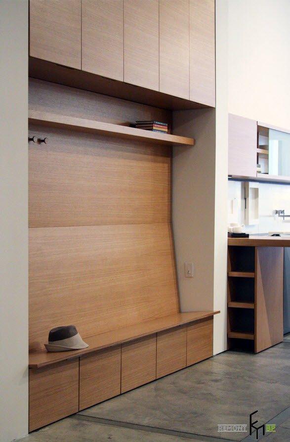 Необычная форма шкафа