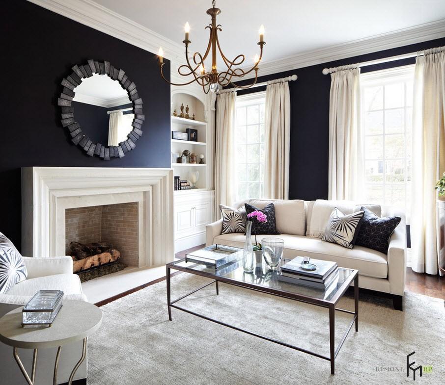Белые шторы в интерьере квартиры: красивые идеи дизайна на фото
