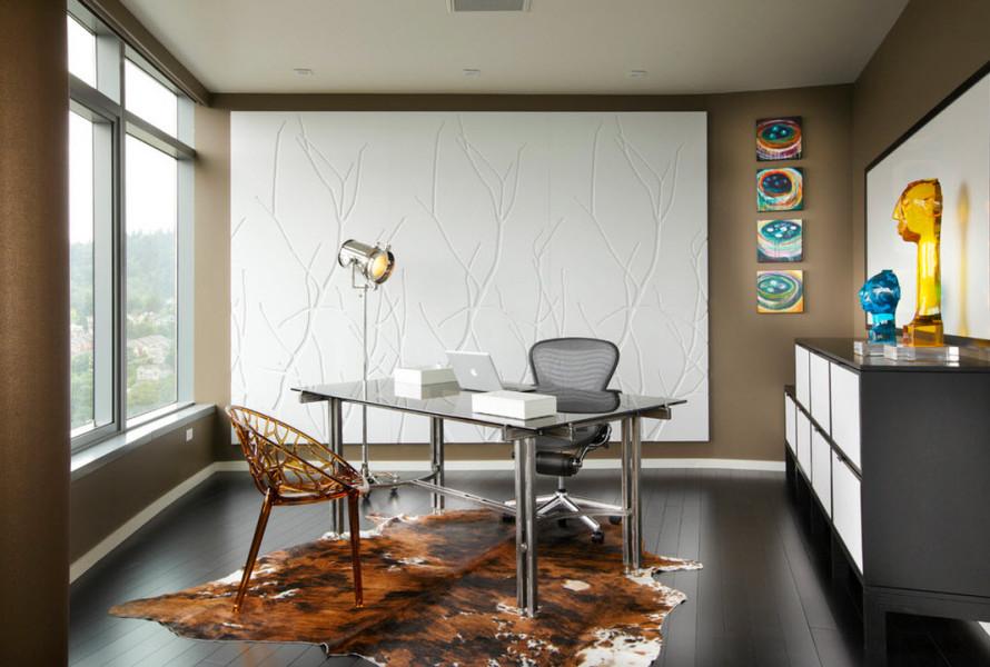 Дизайн современного кабинета фото