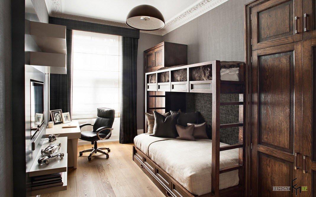 Спальня для двоих подростко