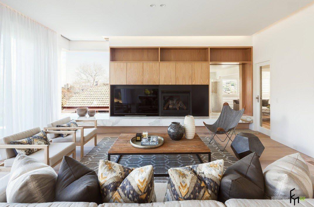 Модерн в гостиной