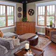 Гостиная с двумя окнами: интерьер и дизайн, меблировка, правила оформления