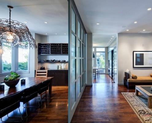 Интерьер просторной гостиной