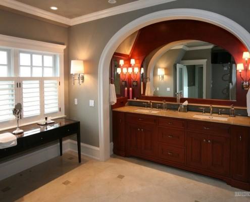 Декоративная арка на кухне