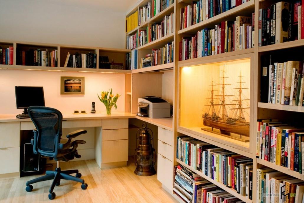 Угловые столы: 25 стильных фото в интерьере квартиры.