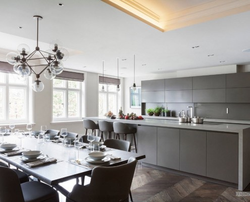 Кухня в современном стиле модерн: идеи для обустройства на фото