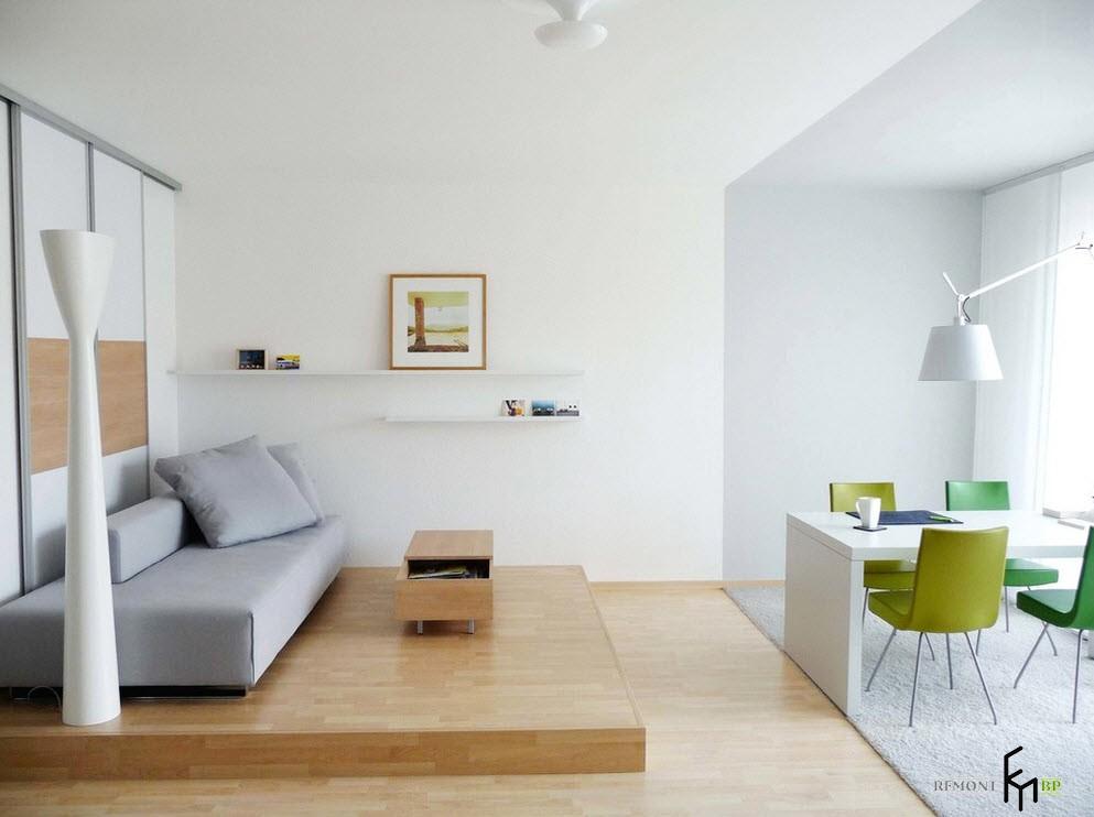 Современная комната в квартире