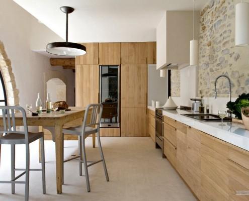 Кухня в доме в Италии