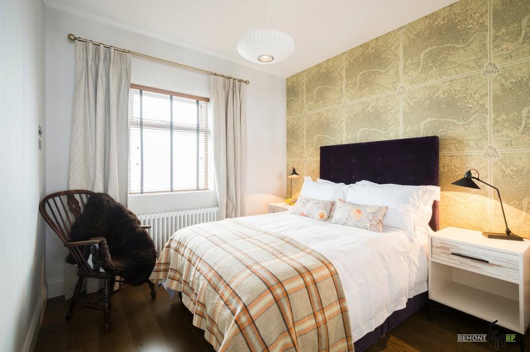 Ночники <i>дизайн спальни в квартире</i> в спальне