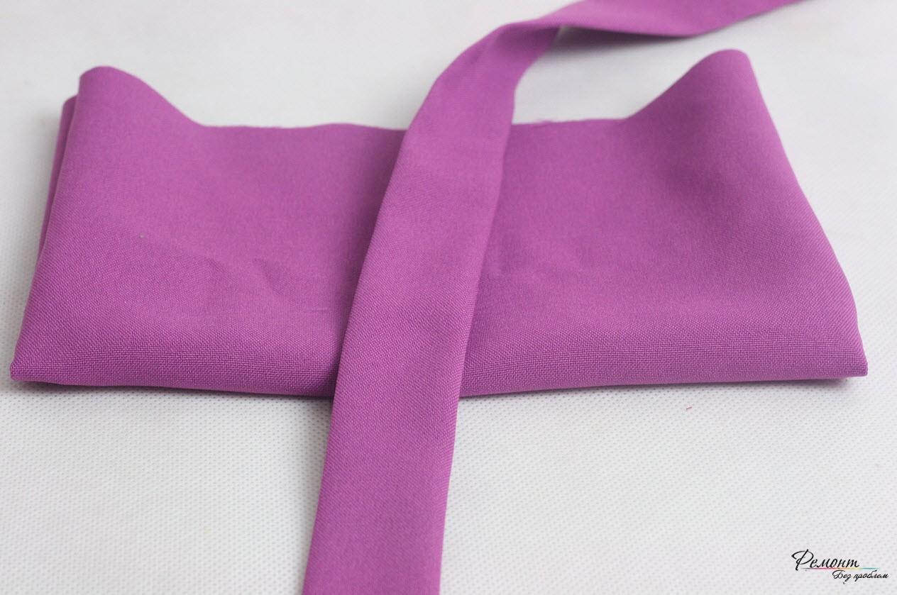 Полоска ткани для завязок