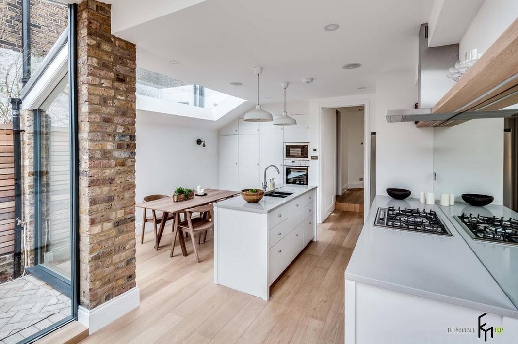 Современный дизайн загородного дома в английском стиле