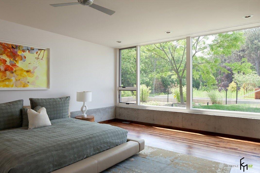 Панорамные окна и свет