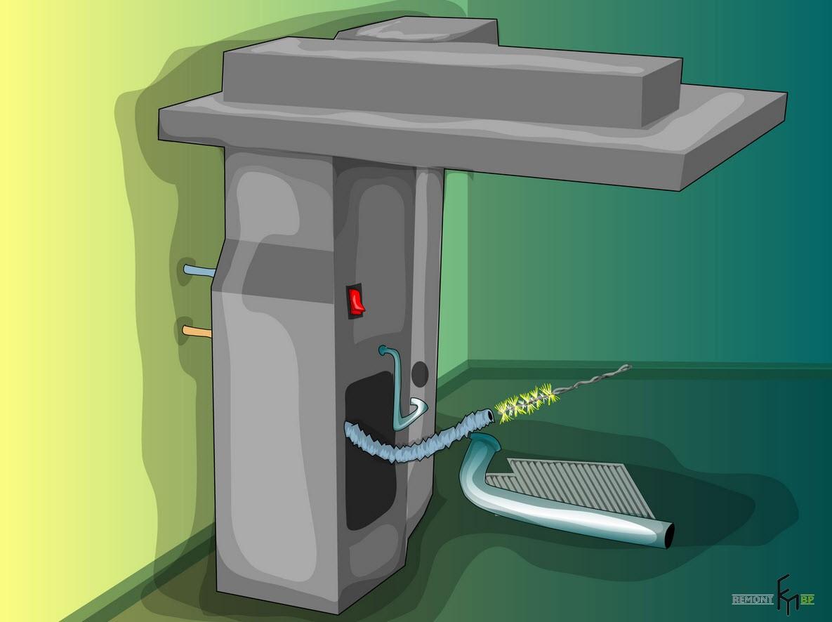 Первый способ чистки кондиционера, пятый шаг