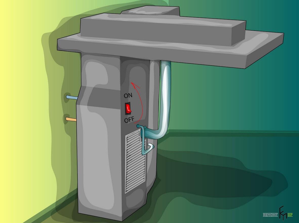 Первый способ чистки кондиционера, шестой шаг