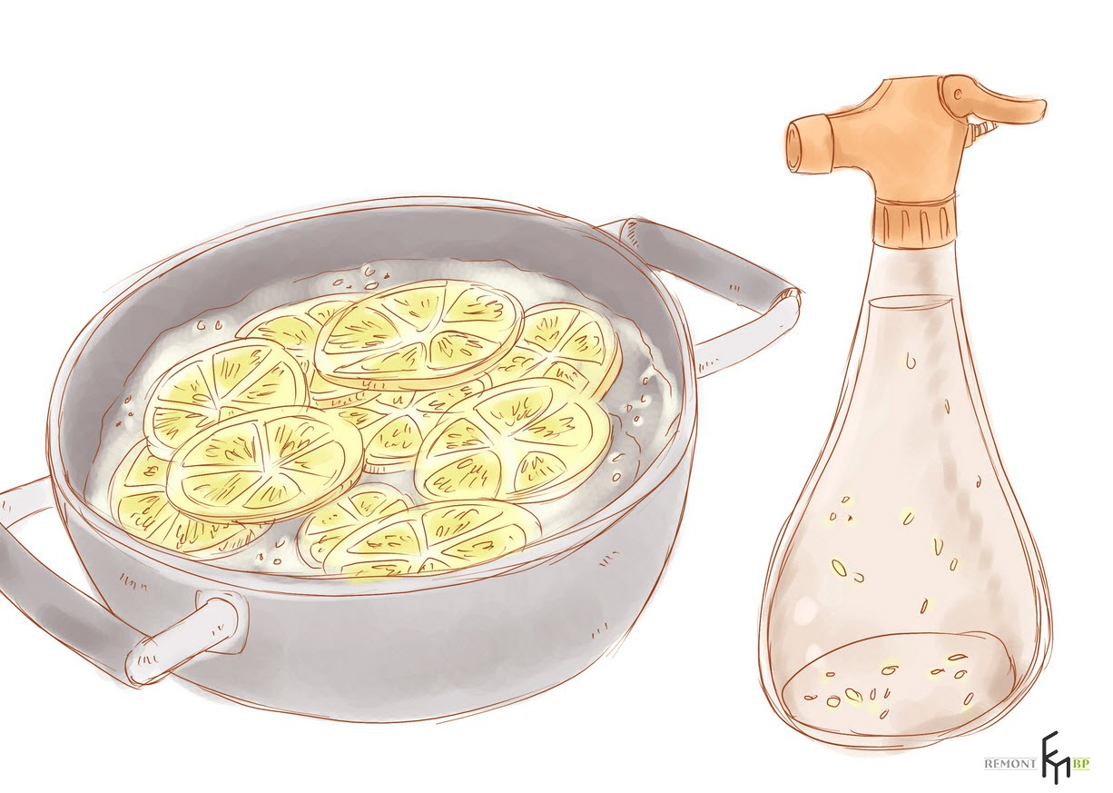 Спрей из сока лимона