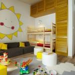 Сияние солнца в детской комнате