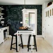 Грифельная доска на кухне