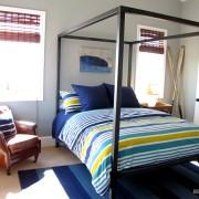 Спальня в морских цветах