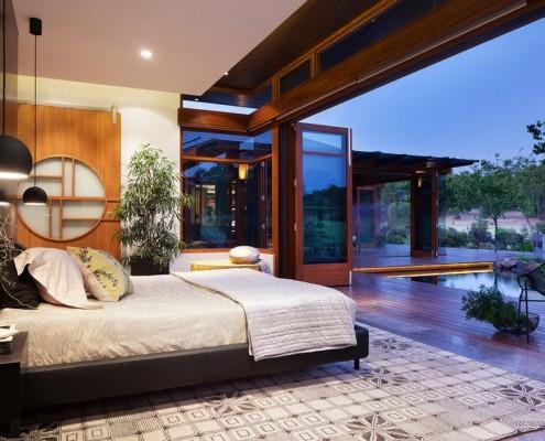 Спальня на веранде