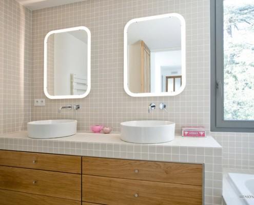 Пейзаж как элемент интерьера ванной комнаты