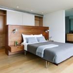 Современная спальня, выдержанная в стиле модерн