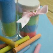 Седьмой этап изготовления цветного песка