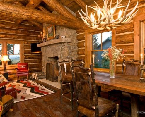 Комната в охотничьем стиле