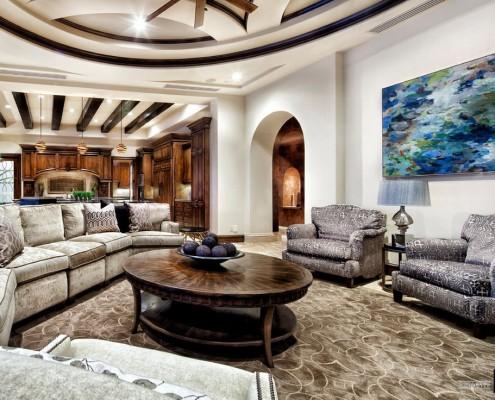 Особняк в средиземноморском стиле – архитектура, интерьер и дизайн на фото