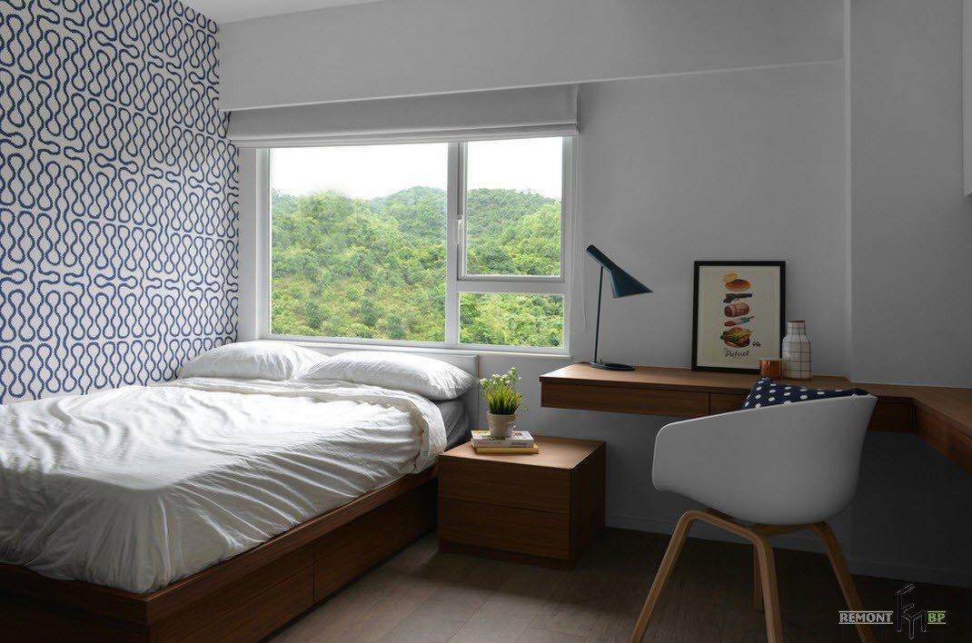Робоче місце в спальні