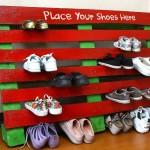 Как сделать стойку для обуви своими руками