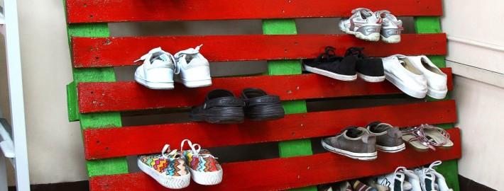 Седьмой этап изготовления полки для обуви