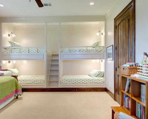 Двухъярусные кровати для детей: 20 оригинальных фото примеров