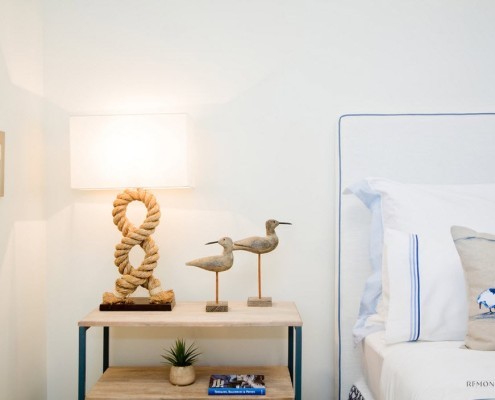 Настольная лампа в морском стиле