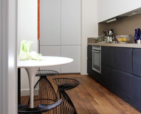 Интерьер парижской кухни