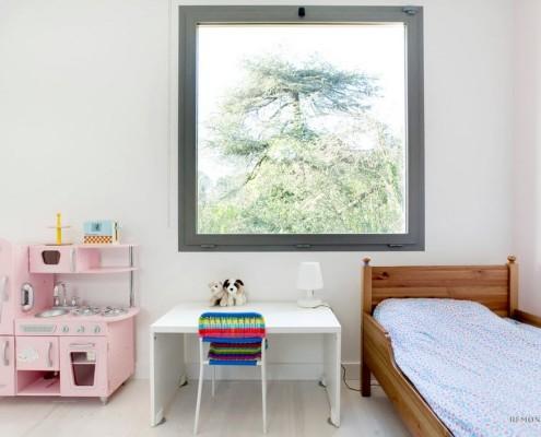 Пейзаж как элемент интерьера детской