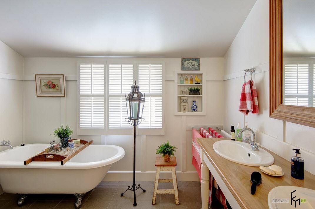 Ванная без плитки