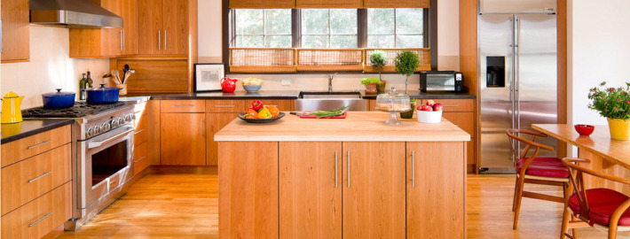 Кухонные зоны: изысканный дизайн и комфорт