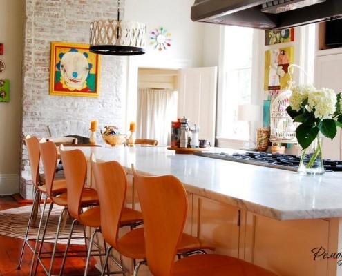 Мебель - яркий элемент кухни