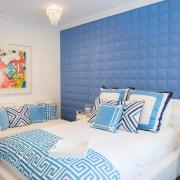 Голубой цвет для комнаты девочки